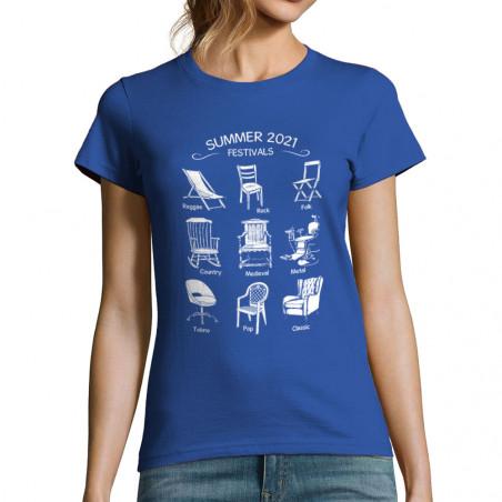 """T-shirt femme """"Summer 2021..."""