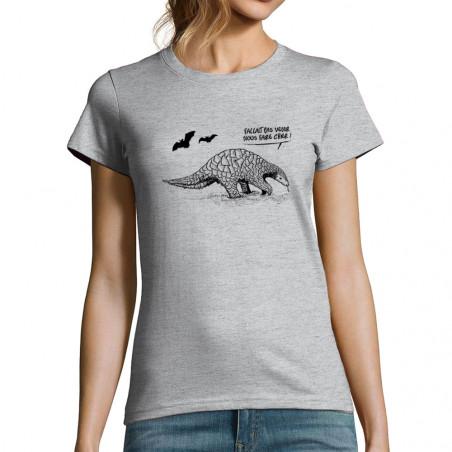 """T-shirt femme """"Pangolin..."""