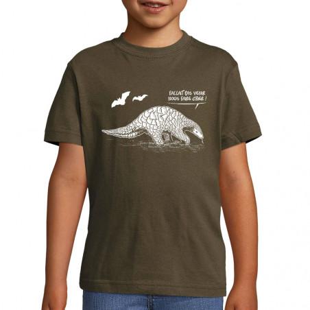 """Tee-shirt enfant """"Pangolin..."""