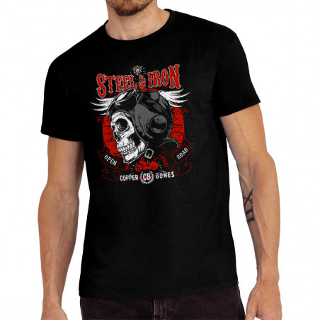 """Tee-shirt homme """"Steel and..."""
