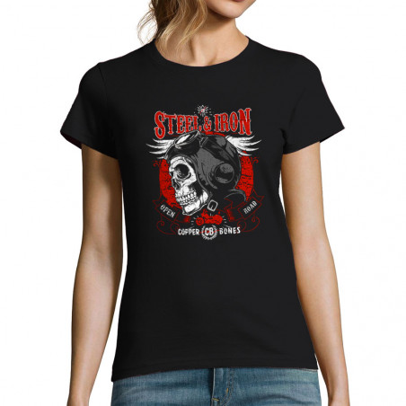 """T-shirt femme """"Steel and Iron"""""""