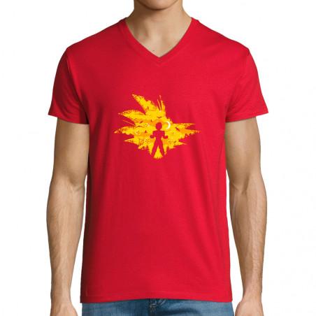 """T-shirt homme col V """"Super..."""