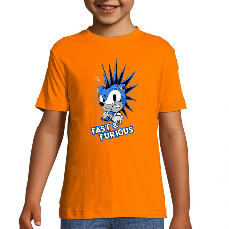 """Tee-shirt enfant """"Fast and..."""