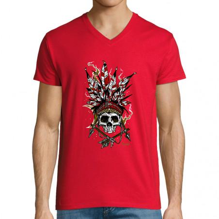 "T-shirt homme col V ""Arrows..."