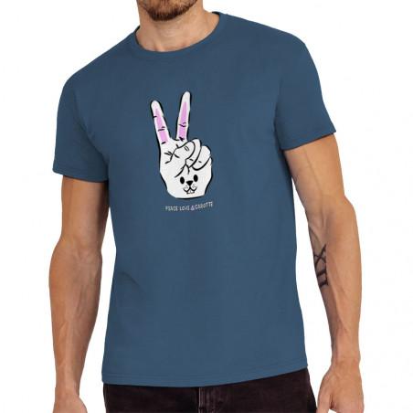 "Tee-shirt homme ""Peace Love..."
