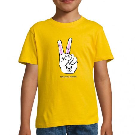 """Tee-shirt enfant """"Peace..."""
