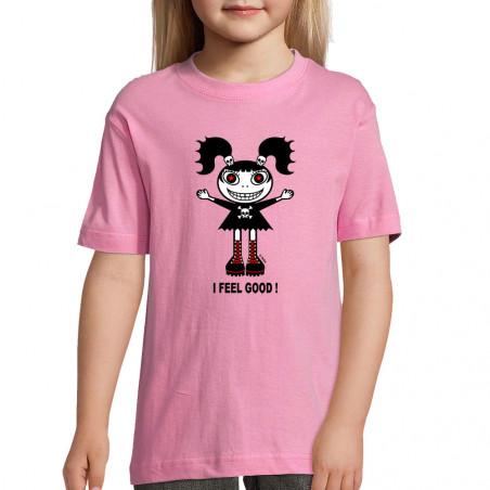 "Tee-shirt enfant ""I feel good"""