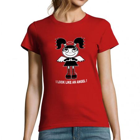 "T-shirt femme ""Like an angel"""