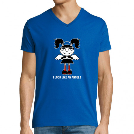 "T-shirt homme col V ""Like..."