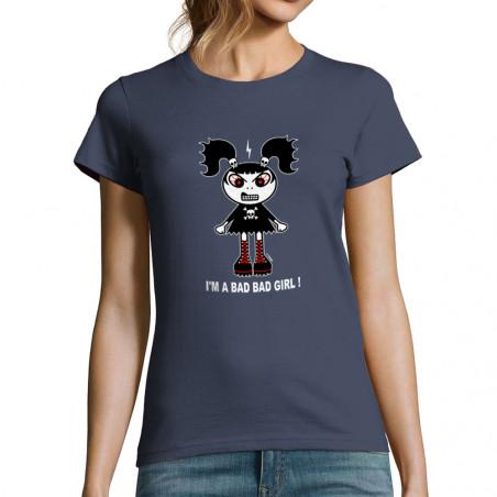 """T-shirt femme """"Bad girl"""""""