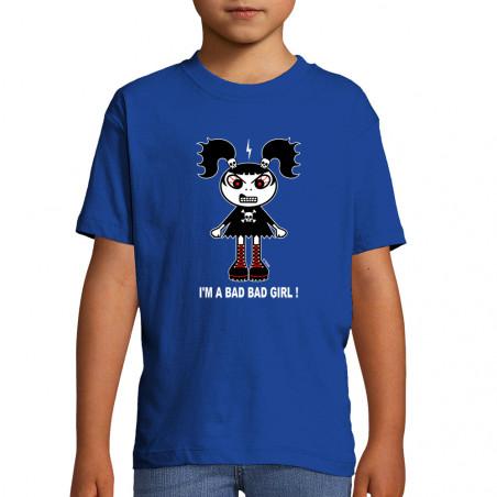 """Tee-shirt enfant """"Bad girl"""""""