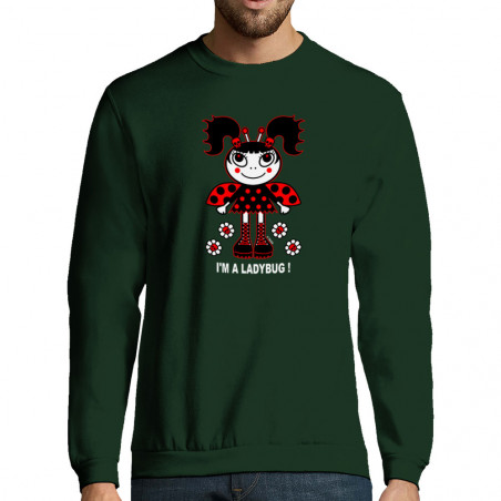 """Sweat-shirt homme """"Ladybug"""""""