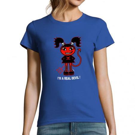 "T-shirt femme ""Real Devil"""