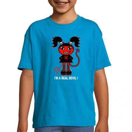 "Tee-shirt enfant ""Real Devil"""
