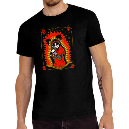"Tee-shirt homme ""Santa Muerte"""