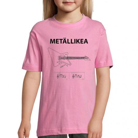 """Tee-shirt enfant """"Metallikea"""""""