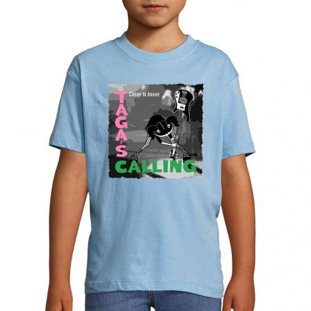 "Tee-shirt enfant ""Taga's..."
