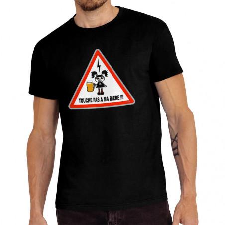 "Tee-shirt homme ""Touche pas..."