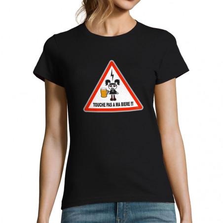 """T-shirt femme """"Touche pas à..."""