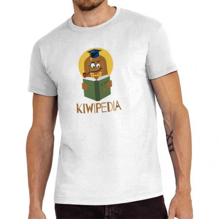 "Tee-shirt homme ""Kiwipedia"""