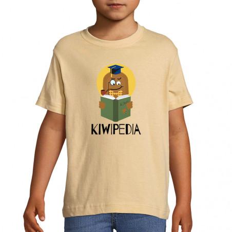 "Tee-shirt enfant ""Kiwipedia"""