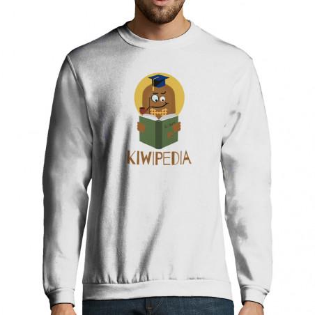 "Sweat-shirt homme ""Kiwipedia"""