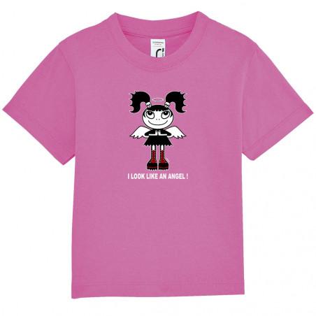 """Tee-shirt bébé """"Like an angel"""""""