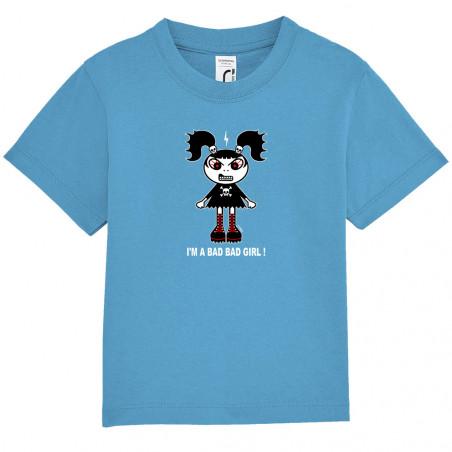 """Tee-shirt bébé """"Bad girl"""""""
