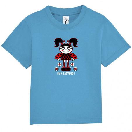"""Tee-shirt bébé """"Ladybug"""""""