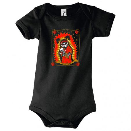 "Body bébé ""Santa Muerte"""