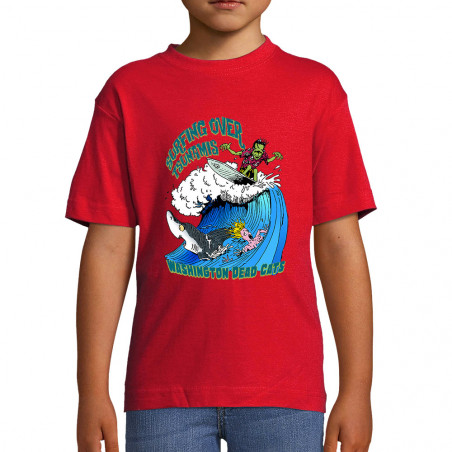 "Tee-shirt enfant ""Surfing..."