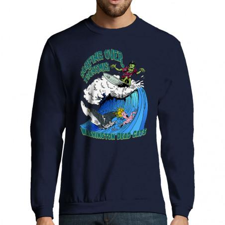 """Sweat-shirt homme """"Surfing..."""