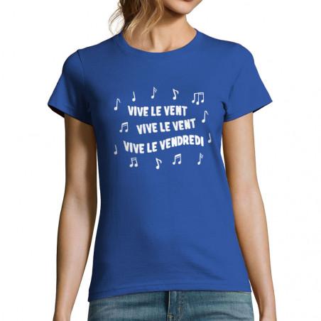 """T-shirt femme """"Vive le..."""