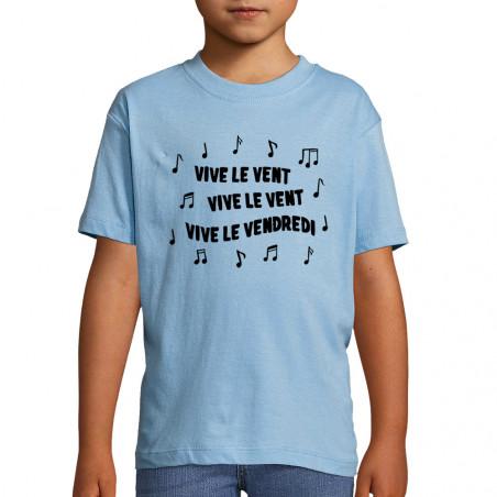 """Tee-shirt enfant """"Vive le..."""