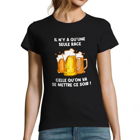 """T-shirt femme """"Une seule race"""""""