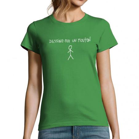 "T-shirt femme ""Dessine moi..."