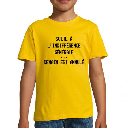 "Tee-shirt enfant ""Demain..."