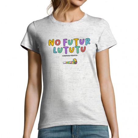 "T-shirt femme ""No Futur..."
