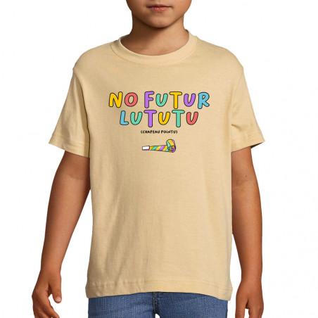 "Tee-shirt enfant ""No Futur..."