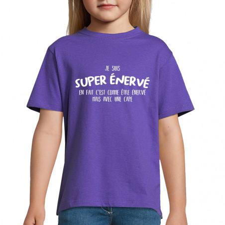 "Tee-shirt enfant ""Super..."
