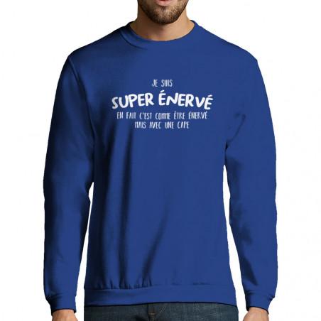 """Sweat-shirt homme """"Super..."""
