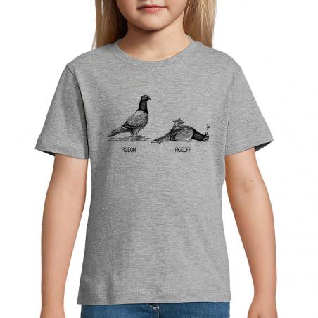 "Tee-shirt enfant ""Pigeon..."