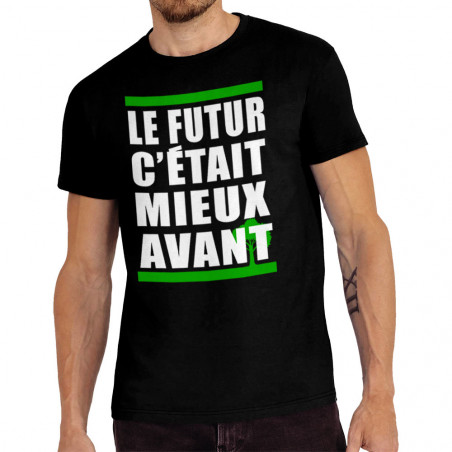 "Tee-shirt homme ""Le futur..."