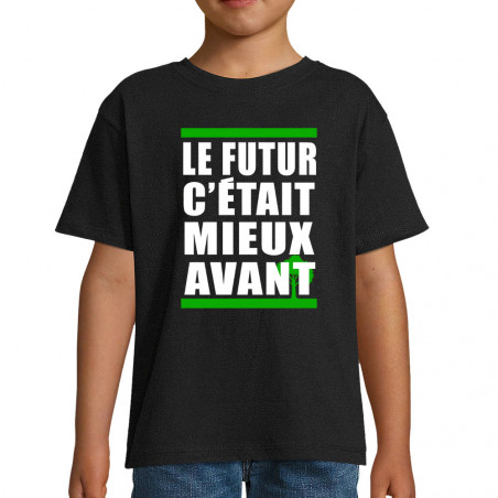"Tee-shirt enfant ""Le futur..."