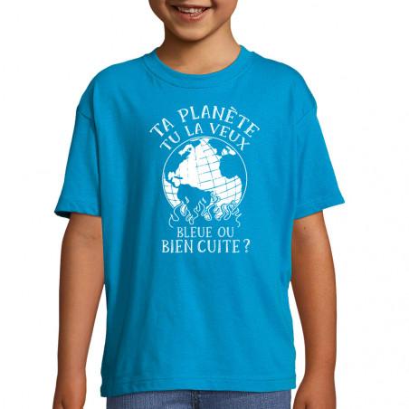 "Tee-shirt enfant ""Ta planète"""
