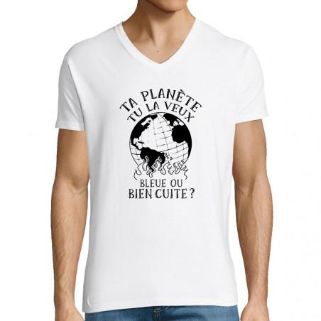 "T-shirt homme col V ""Ta..."