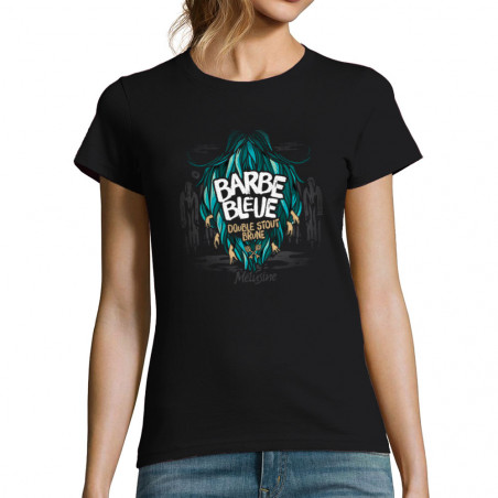 "T-shirt femme ""Barbe Bleue"""