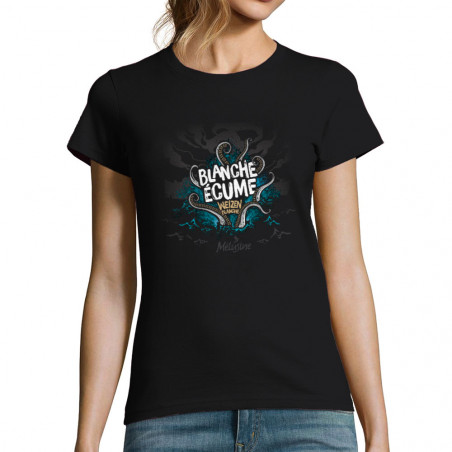"T-shirt femme ""Blanche Ecume"""