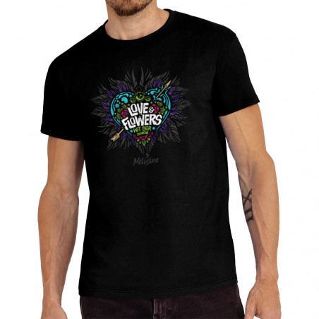 """Tee-shirt homme """"Love and..."""
