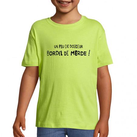 """Tee-shirt enfant """"Un peu de..."""